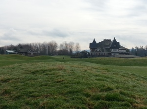 Clubhouse from 9th hole
