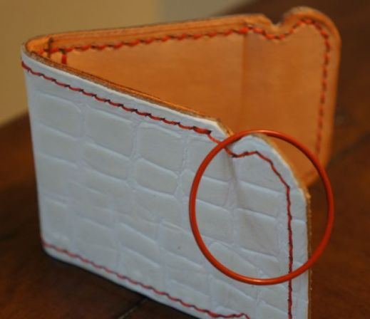 Appalachian Leather Works Cash Cover