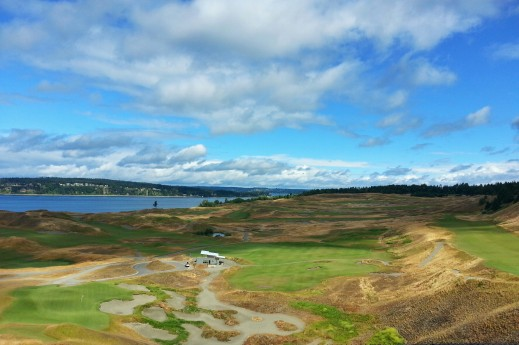 Chambers Bay Golf Course Overview 2015 U.S. Open